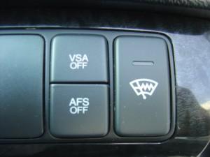 VSA・AFS・フロントガラス熱線スイッチ