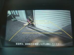 純正HDDインターナビTV(バックモニター)