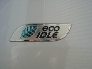 eco IDLE エンブレム