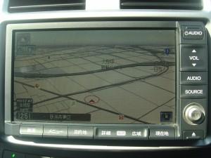 純正HDDインターナビTV