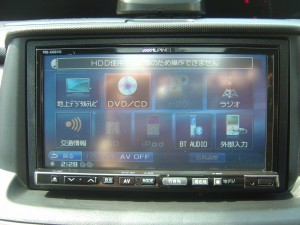 ALPINE VIE-X08VS HDDナビTV