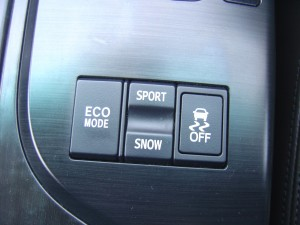 ECOモード・SNOW/POWER・トラクションコントロールスイッチ