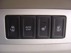 シートヒーター・両側電動スライドドアスイッチ