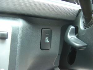 AC100V電源スイッチ