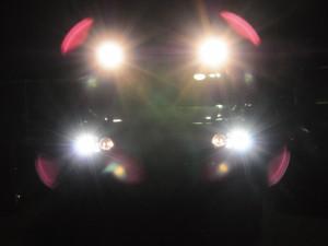 ハイパールーフレール点灯