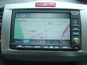 純正HDDインターナビTV/DVD