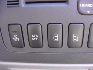 AC100V電源・AFS・両側電動スライドドアスイッチ