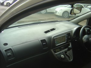 ウィッシュ X 新潟 中古車 エアロ 15AW HDDナビ/DVD 後期