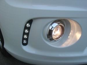 フォグランプ、LEDデイライト