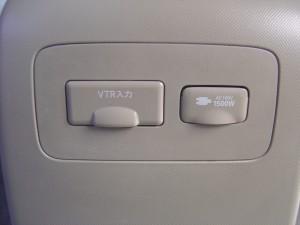 VTRジャック、AC100V電源