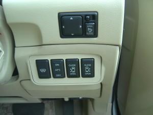 フロントガラス熱線・AFS・両側電動スライドドアスイッチ