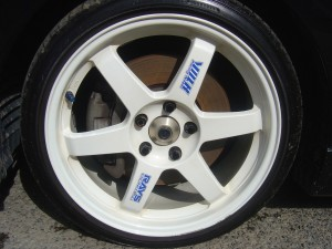 RAYS VOLK RACING TE37 18インチAW