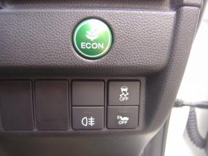 ECON・バックフォグランプ・VSA・車両接近通報装置スイッチ