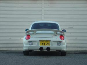 前オーナー八王子(東京)ナンバー