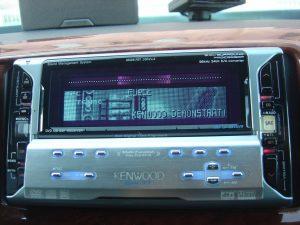 KENWOOD RVX77 DVDプレーヤー