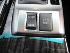 SPORT/SNOW・ECOスイッチ
