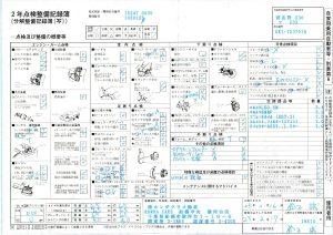 記録簿 23.2.27 19814km