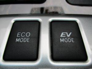 ECO MODE、EV MODEスイッチ