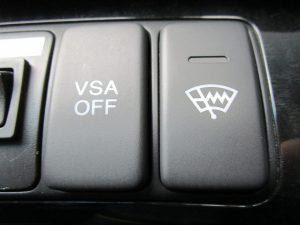 VSA・フロントガラス熱線スイッチ