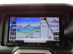 Panasonic CN-RX02DメモリーナビTV