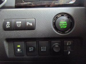TRC、ルームランプ、クリアランスソナー、エンジンスタートボタン、ナノイー、AFS、ECOモードスイッチ