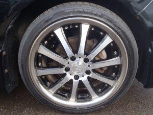 RAYS BLACK FLEET V810 18インチAW