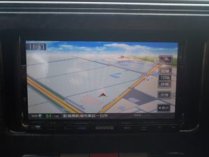 KENWOOD MDV-X701メモリーナビTV