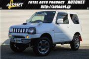 ジムニー 【4WD クロスアドベンチャーXC】 APIOバンパー ROADWINリフトアップ 純正16AW carrozzeriaナビ 8型 5速