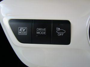 EV、ドライブモード切替、車両接近通報スイッチ