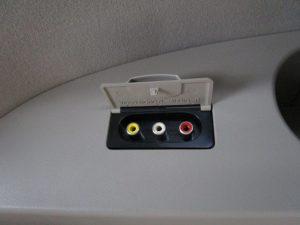3列目ビデオ入力端子