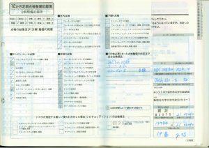 記録簿21.10.4 17784km