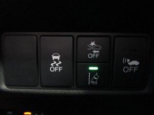 VSA・誤発進抑制機能・路外逸脱抑制機能・車両接近通報装置スイッチ