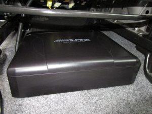 ALPINE SWE-1200 パワードサブウーファー