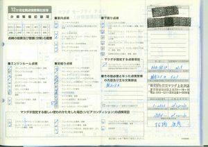 記録簿21.2.13 19594km