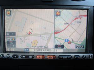 純正HS307D-A HDDナビTV