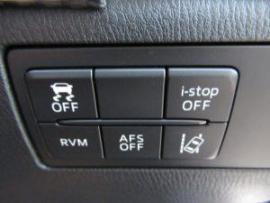 DSC、i-stop、RVM、AFS、LDWSスイッチ