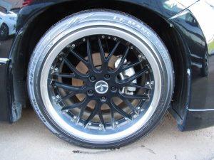RAYS BLACK FLLET V210 19インチAW