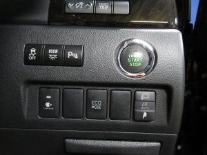 TRC、ルームランプ、クリアランスソナー、エンジンスタートボタン、ナノイー、ECOモードスイッチ