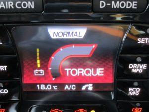 ドライブモードコントロール