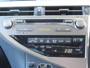 オーディオコントロール・エアコンパネル