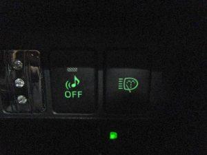 車両接近通報装置・ヘッドライトウォッシャースイッチ