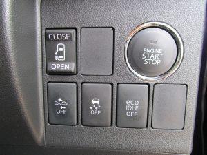 電動スライドドア、スマートアシスト・TRC・エコアイドルスイッチ、エンジンスタートボタン
