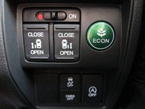 両側電動スライドドア、ECON、VSA、CMBS、i-stopスイッチ
