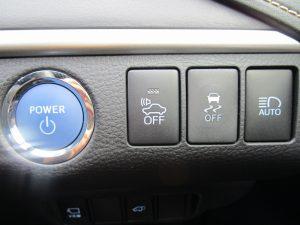 エンジンスタートボタン、車両接近通報装置、TRC、オートハイビームスイッチ