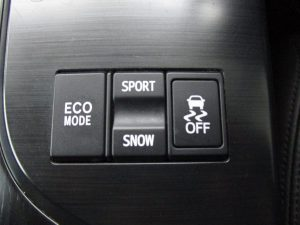 ECO、SPORT・SNOW、TRCスイッチ