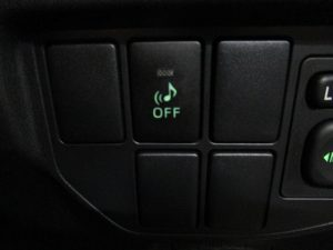 車両接近通報装置スイッチ