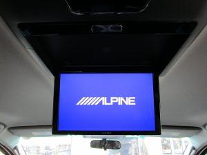 ALPINEフリップダウンモニター