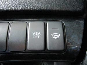 VSA、フロントガラス熱線スイッチ