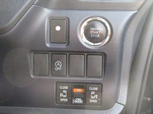エンジンスタートボタン、i-stop、両側電動スライドドアスイッチ