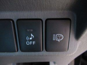 車両接近通報装置、ヘッドライトウォッシャースイッチ